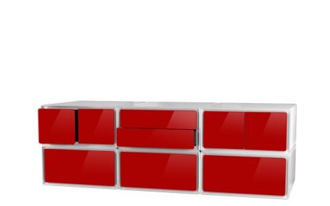 meuble tv design meuble tv rangement tiroirs rangement easybox. Black Bedroom Furniture Sets. Home Design Ideas