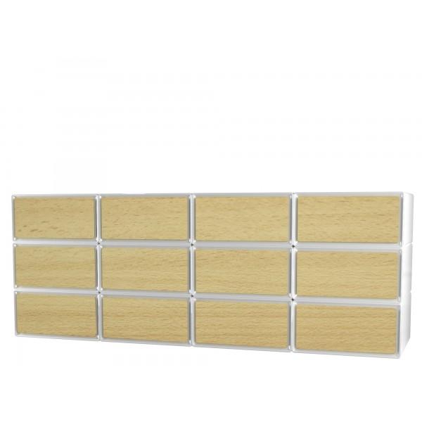 Grand tiroir de rangement les derni res for Meuble rangement jouet