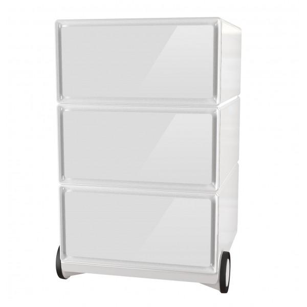 Petit meuble rangement easybox meuble de rangement 4 for Petit caisson a tiroir