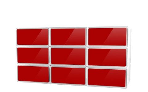 easybox meuble 9 tiroirs