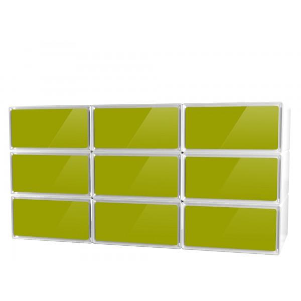 Rangement chambre meuble rangement chambre dressing for Meuble plein de tiroirs